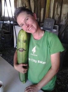 If left unsupervised, zucchinis can grow to enormous sizes!