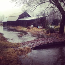 Mid December flooding was a bit worrying, but all is well.